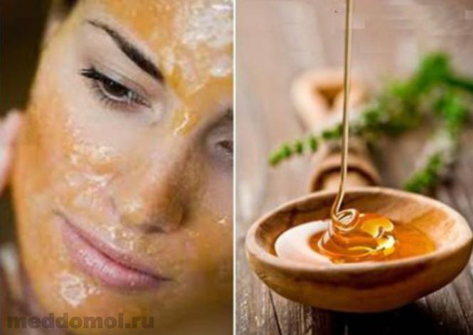 Как очистить лицо в домашних условиях медом